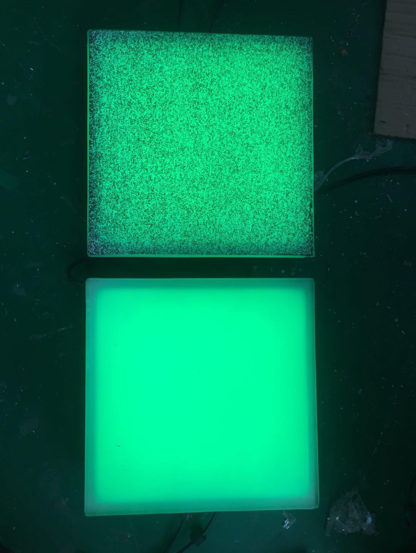 300*300*60MM户外不锈钢磨砂玻璃LED地砖灯