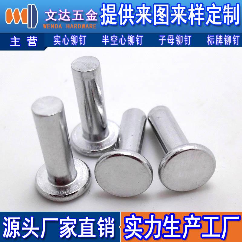 平锥头铁铆钉——【实力厂家】生产供应铁铆钉