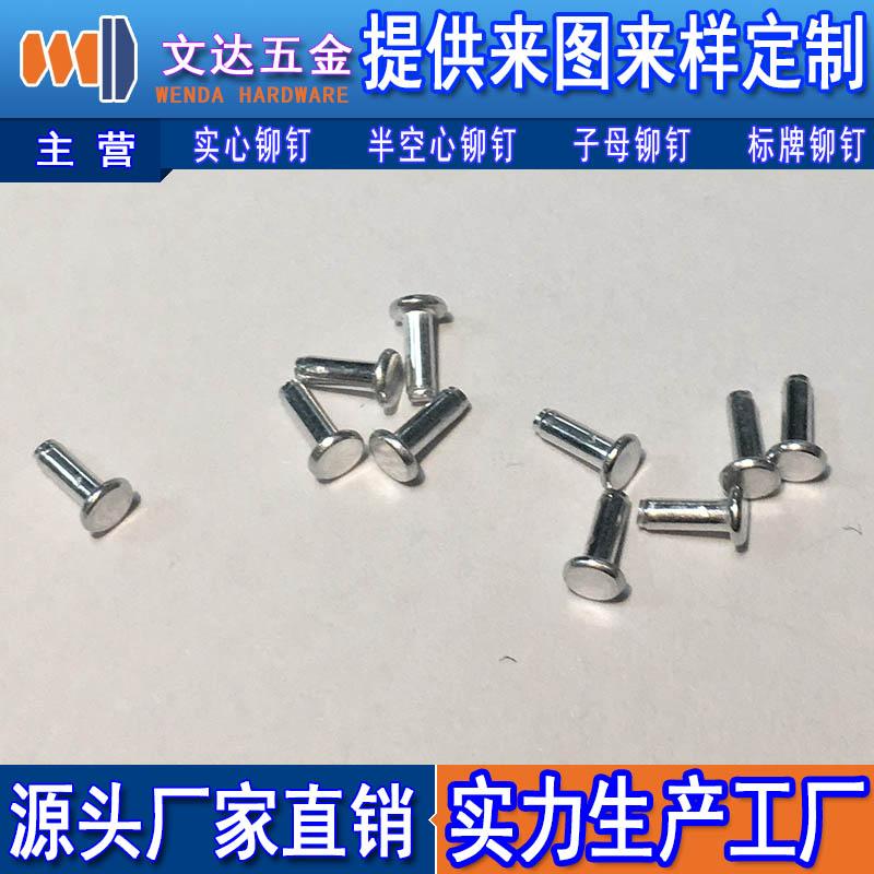深圳沉头铆钉厂家推荐 高性价沉头铆钉