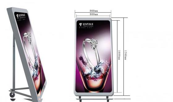 戶外高清廣告機上哪買比較好 新品銀川寧夏LED顯示屏戶外高清廣告機