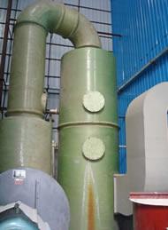 玻璃钢湿法脱硫除尘器 炉窑脱硫塔价格