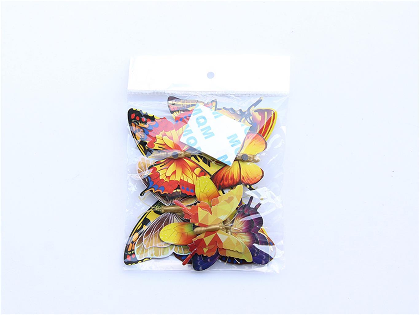 【荐】温州超值的单层金色仿真蝴蝶,仿真蝴蝶饰品批发