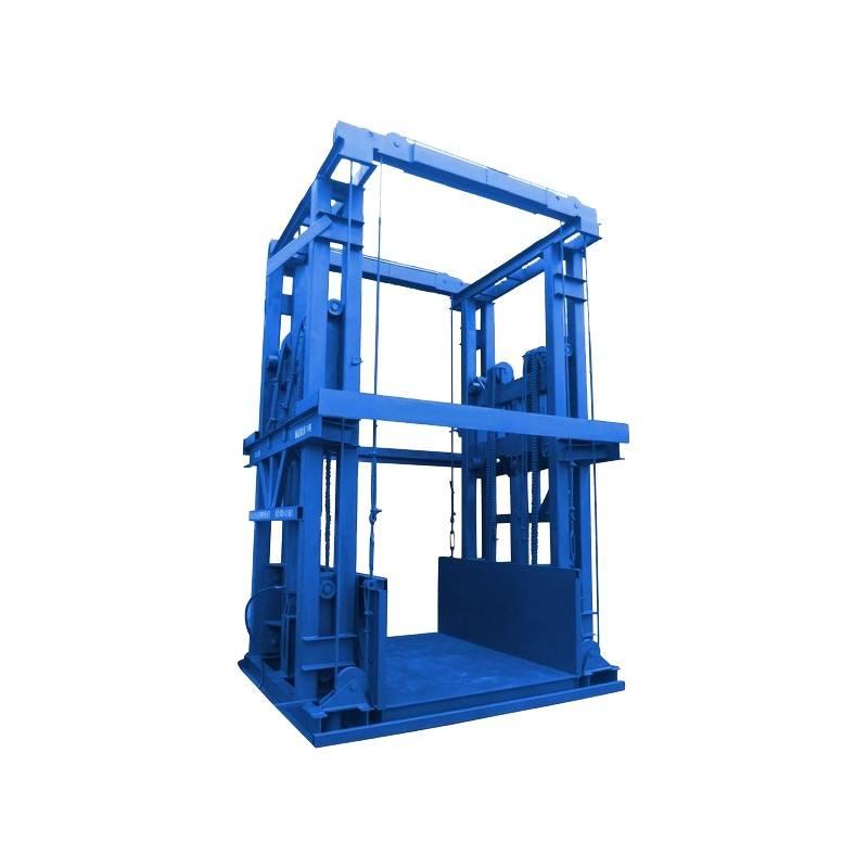 链条导轨式升降货梯上哪买比较好,安阳单缸双臂导轨式升降货梯