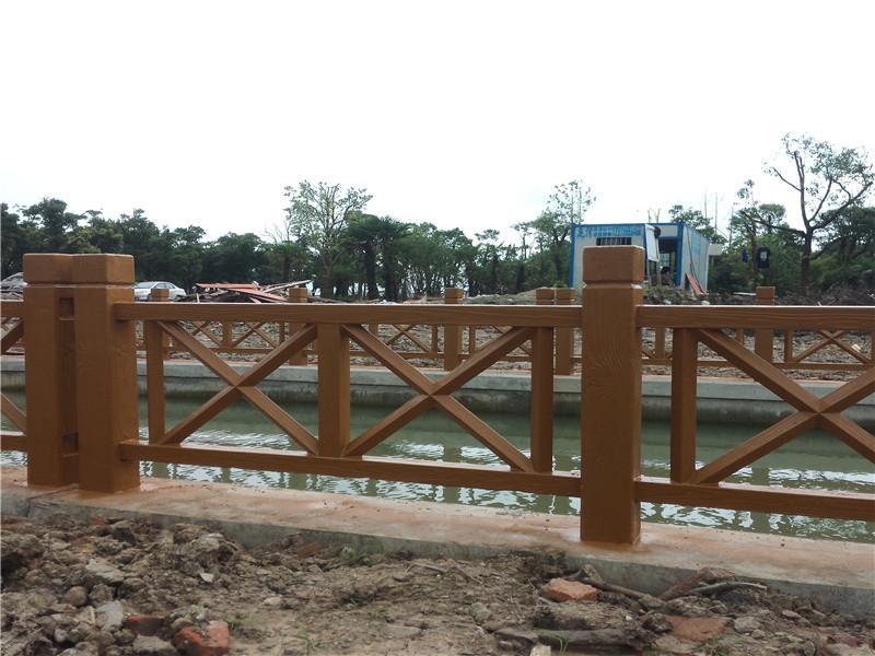 金山仿木栏杆 为您推荐肖氏景观工程品质好的仿木栏杆