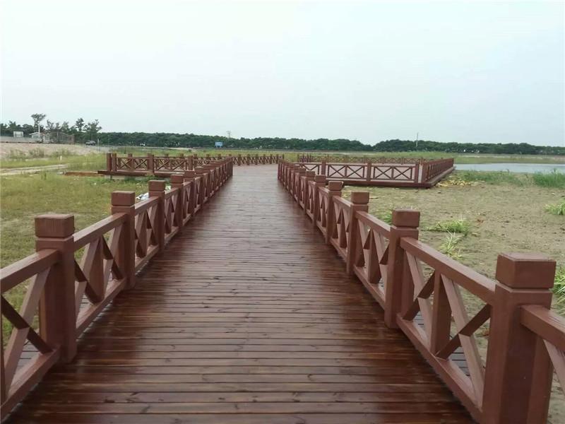 江苏仿木栏杆多少钱_肖氏景观工程提供的仿木栏杆好不好