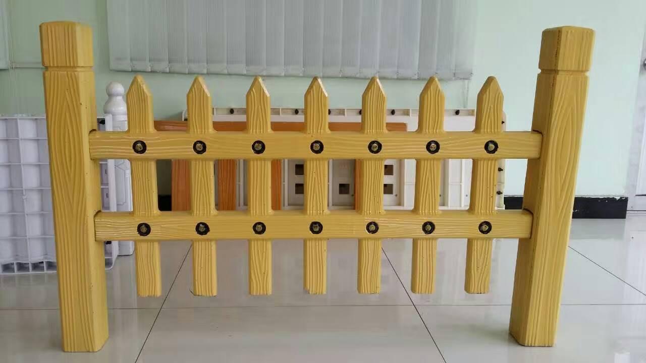 重庆仿木栅栏-大量出售超值的仿木栅栏