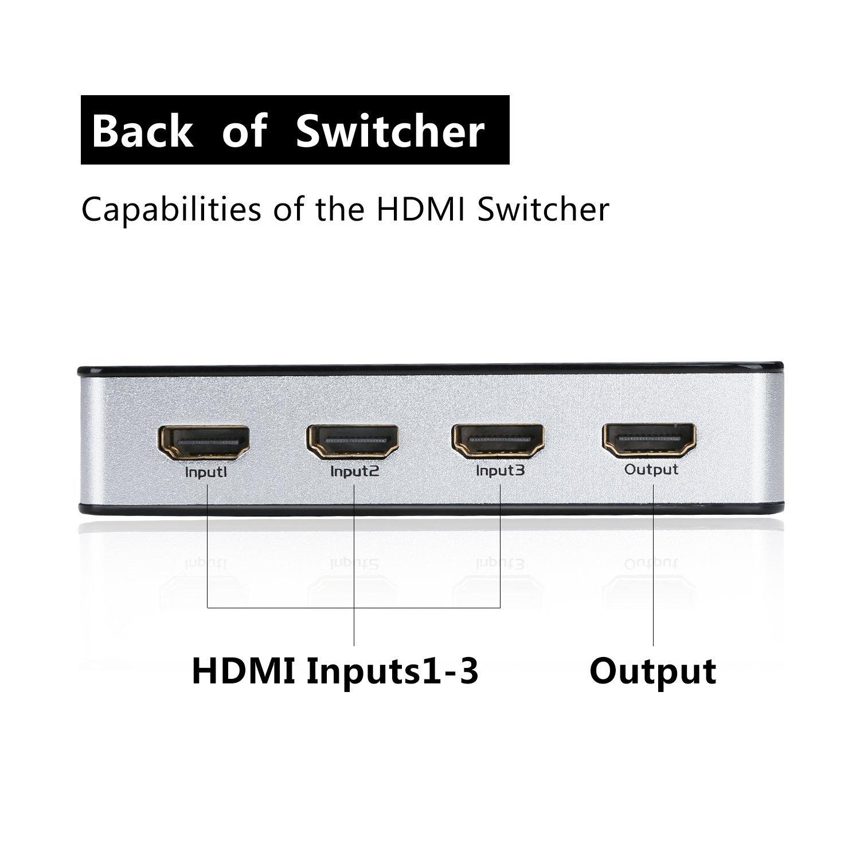 推荐质量好的HDMI 切换器-新款hdmi