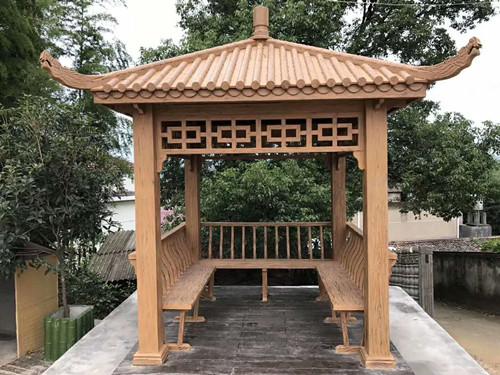 青島仿木涼亭|買優惠的仿木涼亭,就來肖氏景觀工程