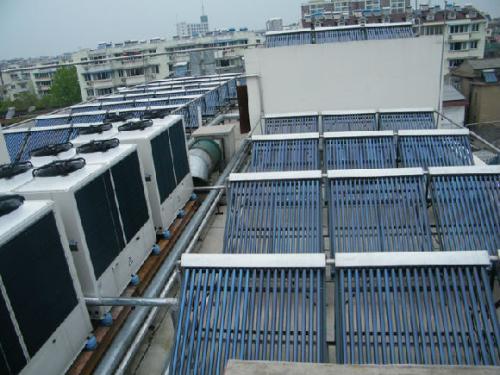 奧潔能源開發太陽能熱泵作用怎么樣_典雅的空氣能熱水器