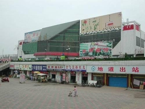南阳火车站户外广告