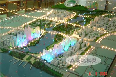 广西城市规划模型|南宁规划沙盘模型