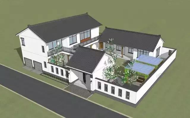 知名的银川轻钢房屋建筑生产商-平凉绿荫科技,农村四合院