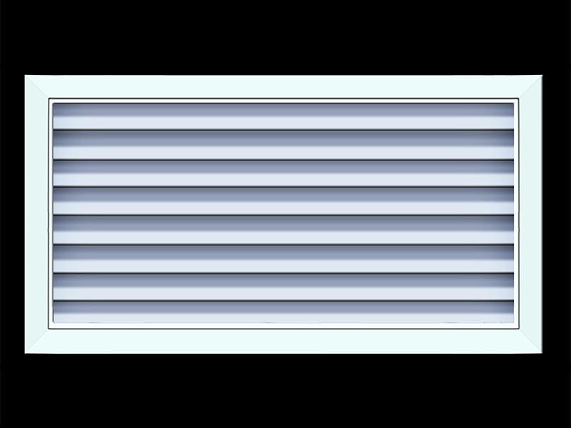 广东防水百叶窗-品质好的防水百叶窗当选深圳军恒通风