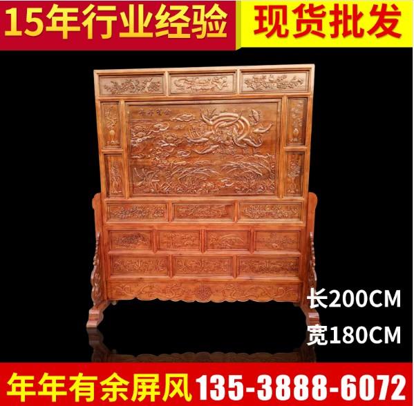 广州番禺中式屏风图案-广东中式屏风价格范围