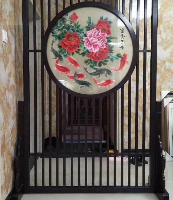 出售广东新品中式屏风-广州番禺中式屏风款式
