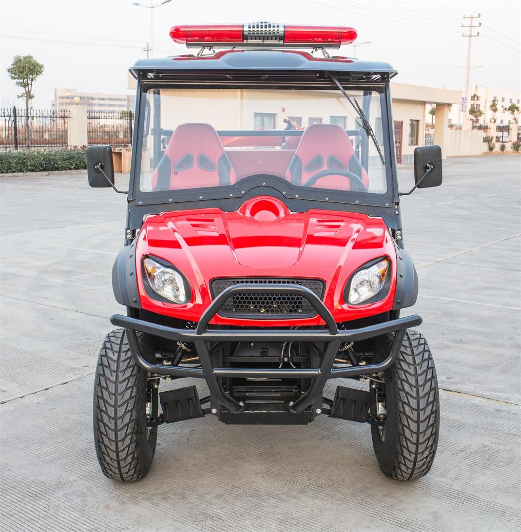 河南绿驰车业提供优质的消防越野车 十堰观光车供应商