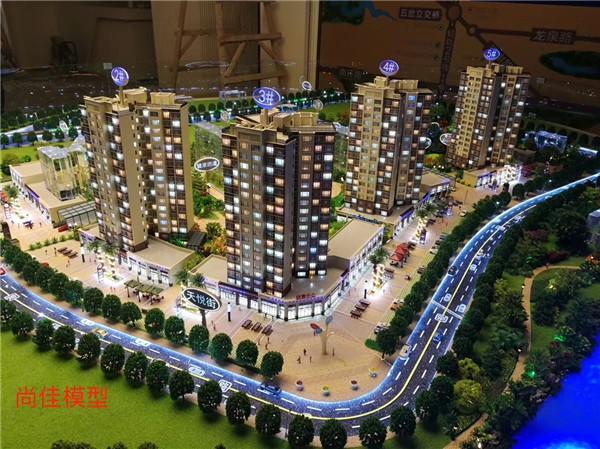 广西建筑模型制作公司|钦州楼盘沙盘制作公司