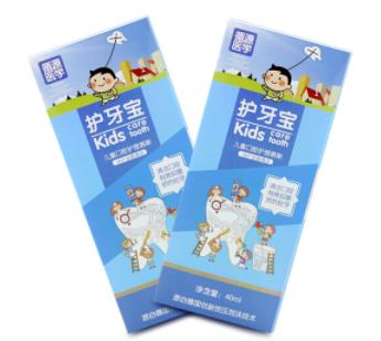 护牙宝慕斯泡沫樱花味40ml礼盒装(两支)
