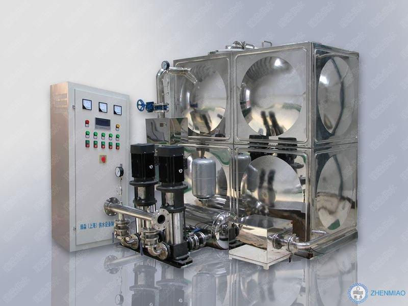 零售智能箱泵一体化增压机组 【推荐】臻淼供水出售全自动变频恒压供水机组