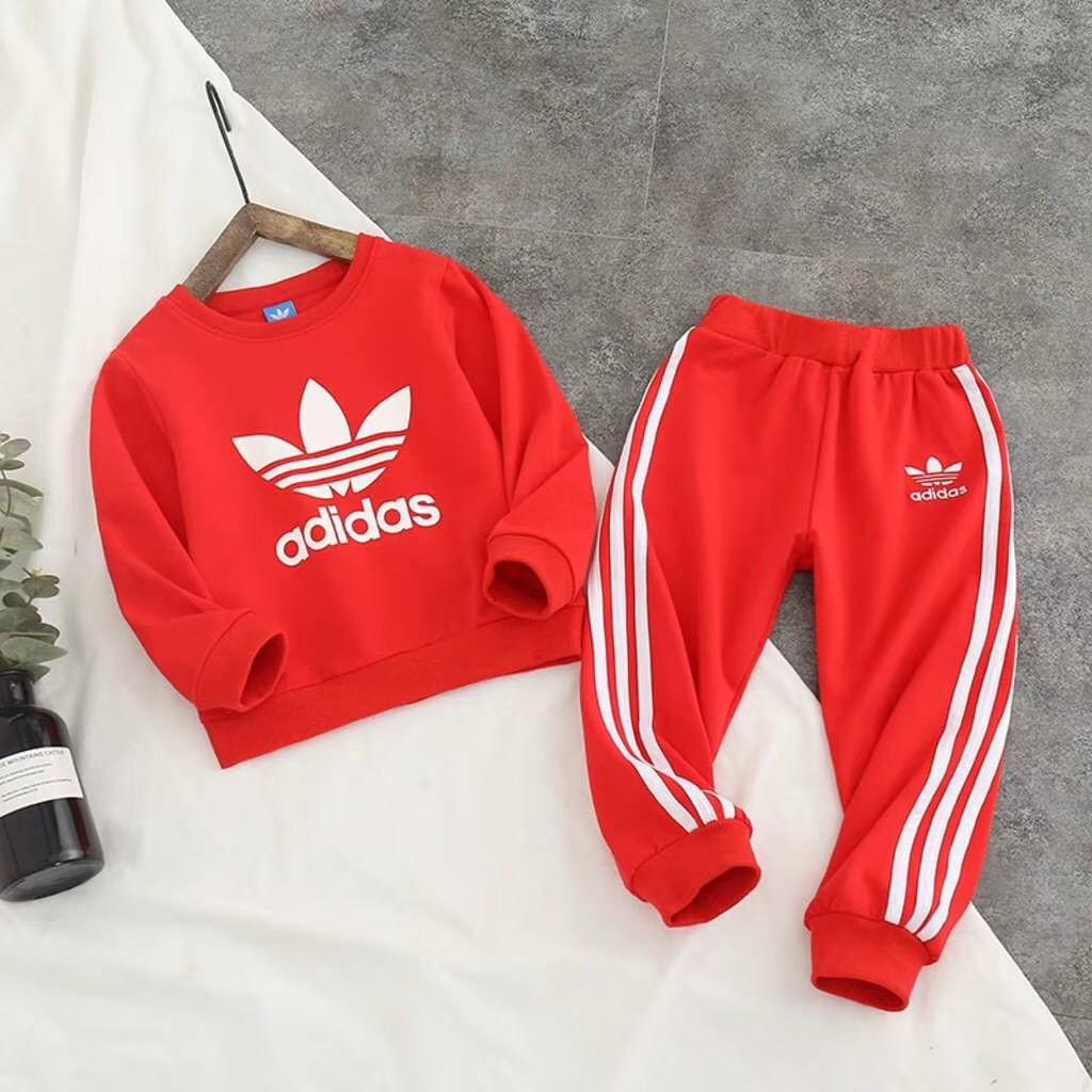 秋季新款儿童运动服套装耐克阿迪达斯青岛厂家直发一件代发