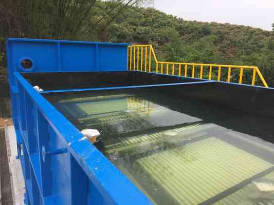 现货一体化污水处理设备中水回用装置森淼环保自主专利研发设备