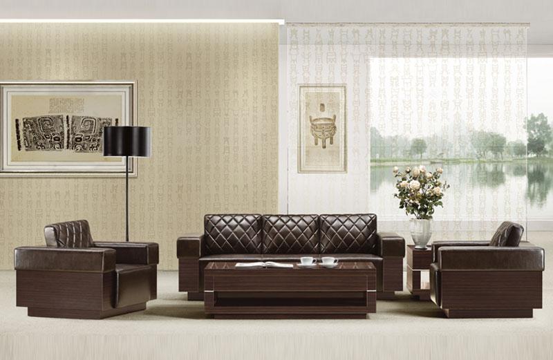 办公沙发专业供应商 桂林办公皮质沙发