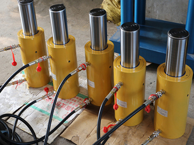 九洲液压供应工程专用同步顶升千斤顶