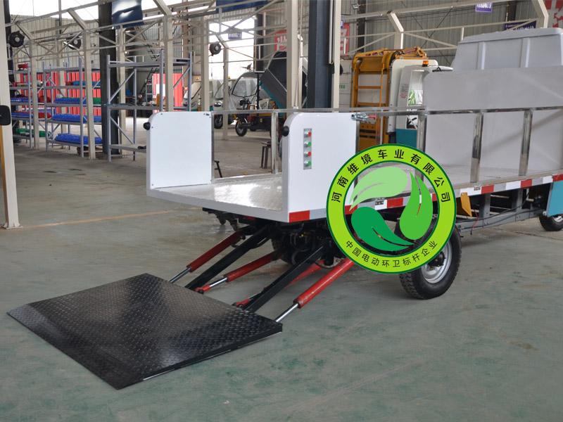 优质的垃圾桶运输车在哪买_电动三轮运桶车价格