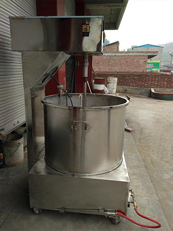 口碑好的平锅火锅炒料机哪里有卖-机械炒料机价格行情