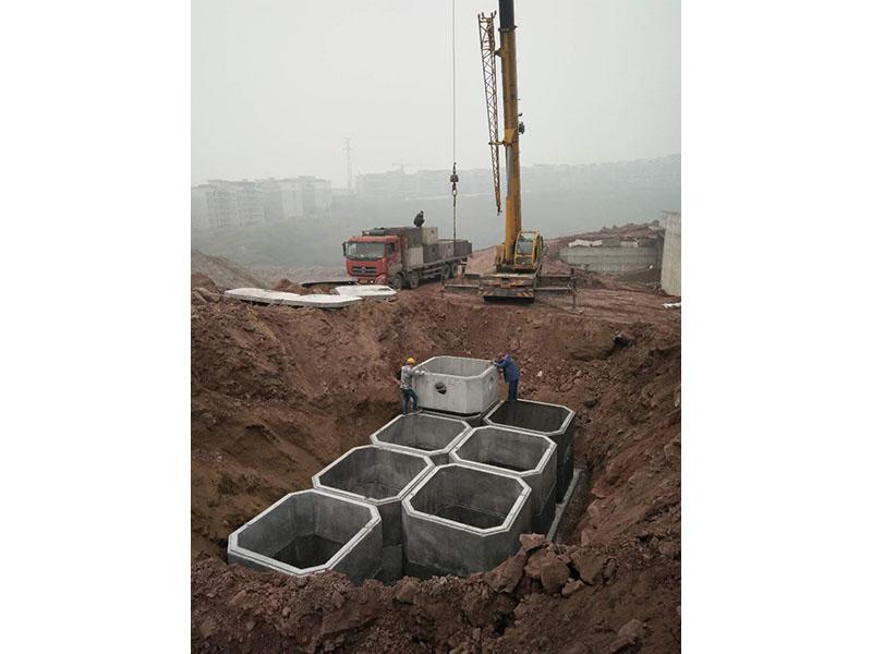 蘭州消防池型號|供應甘肅實用的蘭州蓄水池