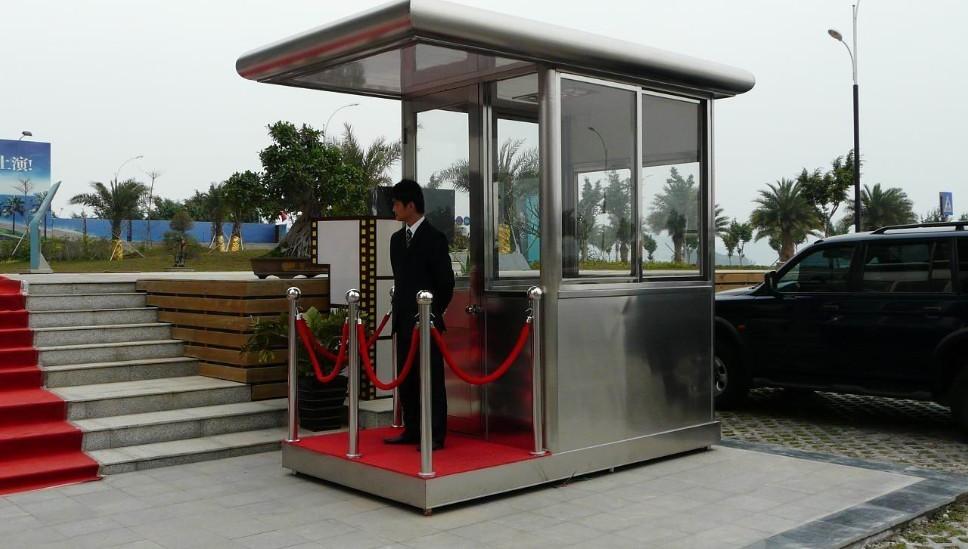 质量好的深圳停车场收费亭在哪能买到 罗湖深圳岗亭