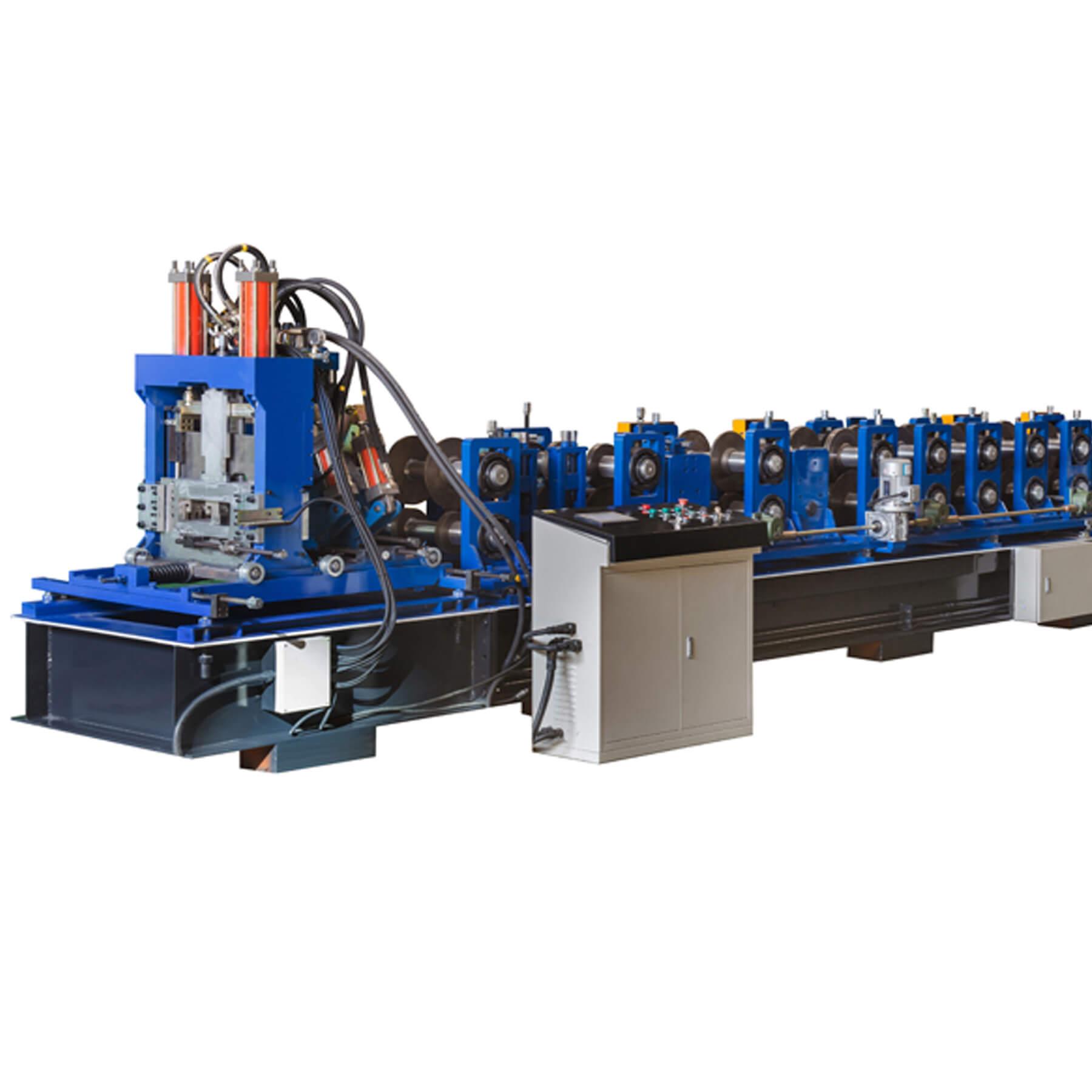 智能的CZ型鋼設備-廈門哪里有供應大禾眾邦快速變換無極剪切cz型鋼機F系列