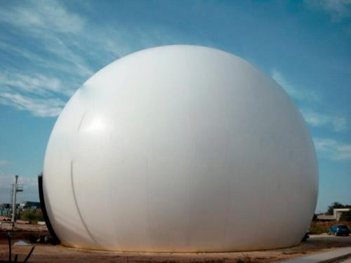 润泉环保供应上等双膜气柜――优质双膜气柜厂家