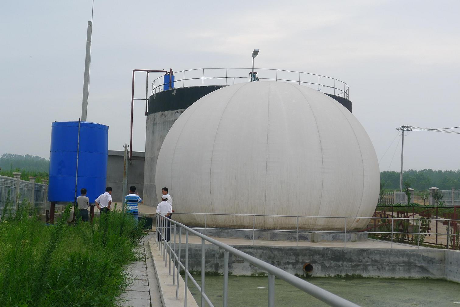 优质双膜气柜定制_【实力厂家】生产供应双膜气柜