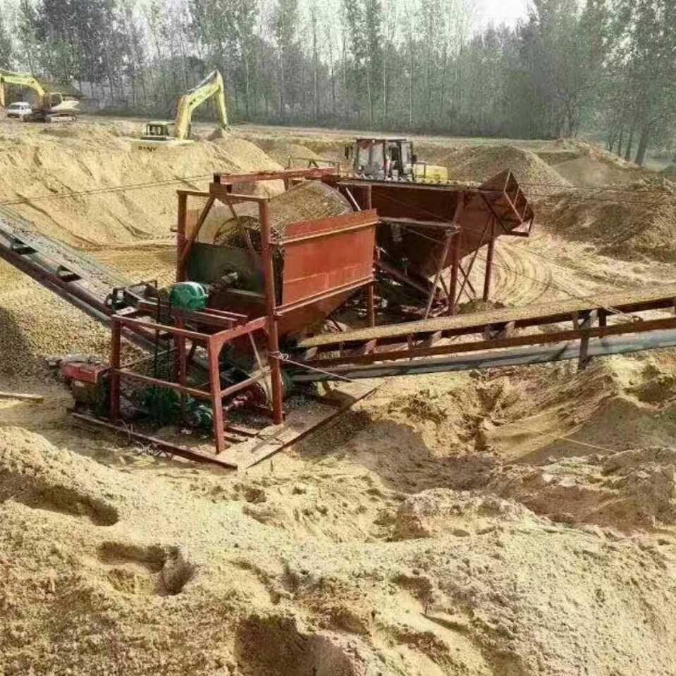 山东小型筛砂设备_物超所值的筛沙机汉一机械供应