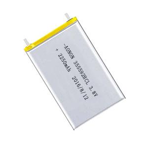 高电压低温聚合物锂离子电池355592HCL 2250mAh