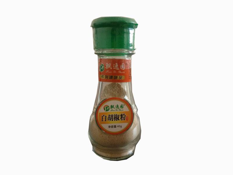 白胡椒粉飘逸园调味食品专业供应|石家庄白胡椒粉厂家直销
