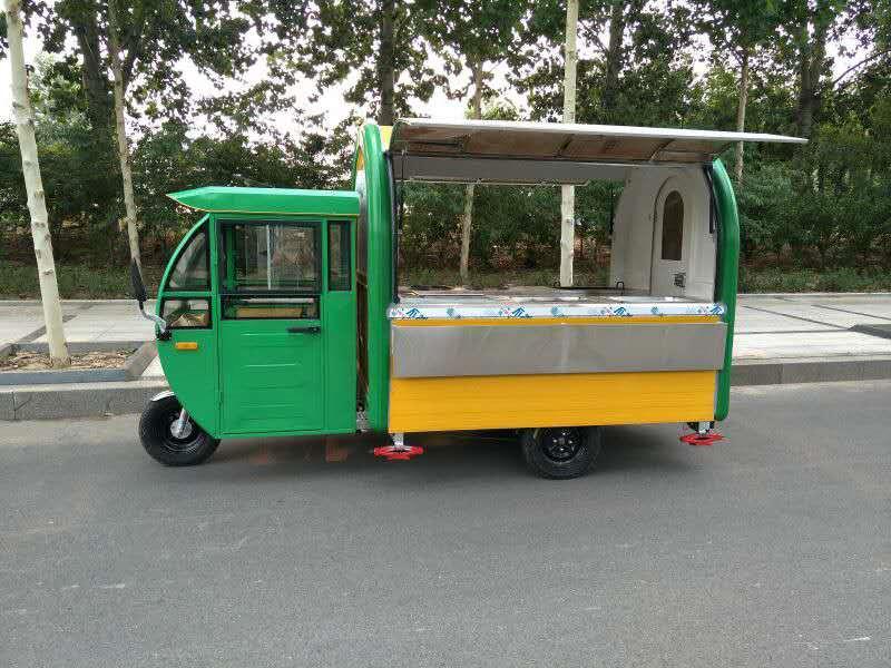 爱心餐车——质量好的电动三轮小餐车提供商——价格合理的电动三轮餐车