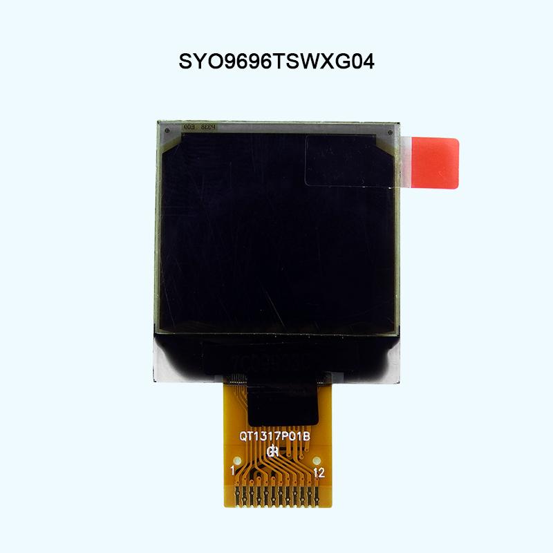 0.96寸液晶模块96x96点阵SSD1317控制器带图纸