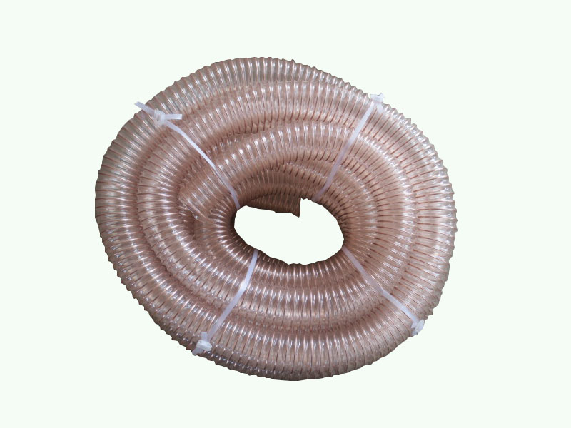 德州东峰合理的PU钢丝伸缩管价格,规格齐全,厂家直销