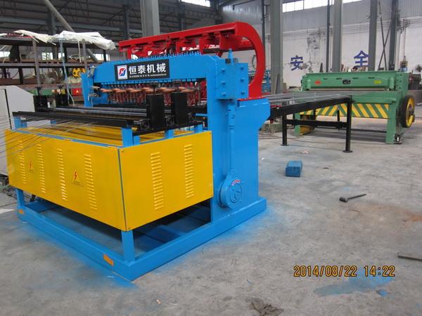 中國恒泰全自動粗絲鋼筋網排焊機_恒泰絲網機械新品恒泰全自動粗絲鋼筋網排焊機出售