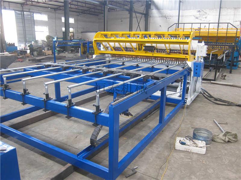 数控桥梁钢筋网片排焊机