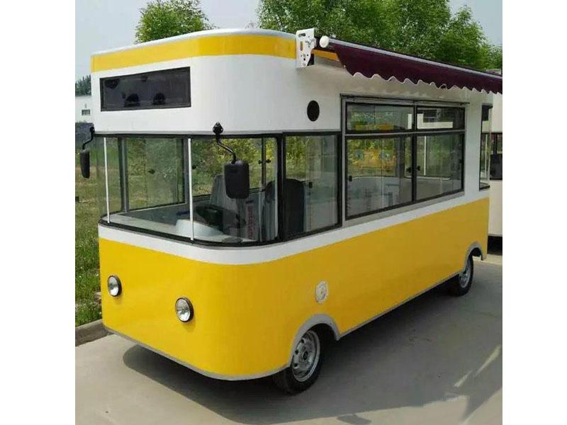 德州哪里有供应电动中巴餐车|电动中巴餐车厂家