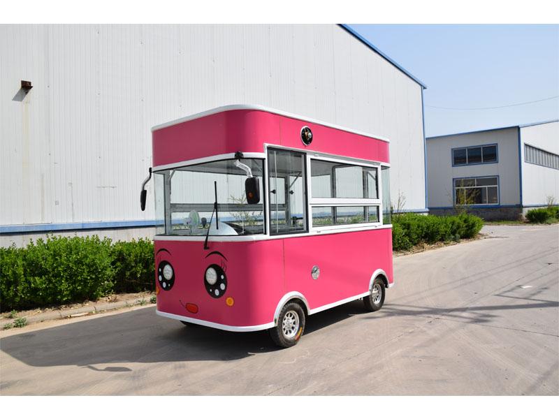 济南冷饮奶茶车加工定制|选购质量好的冷饮奶茶车就选欧准新能源