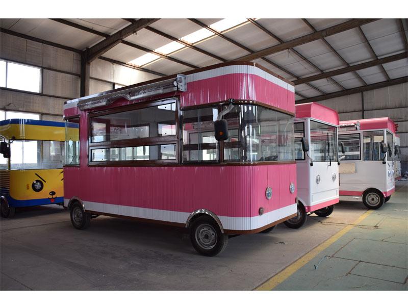 實惠的美食電動餐車推薦-歐準新能源提供美食小吃車