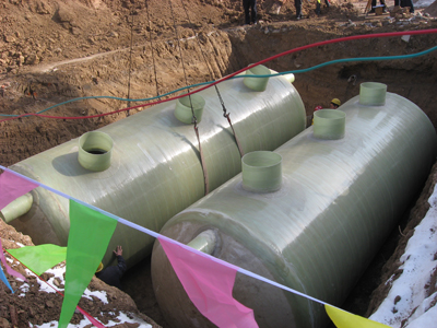 污水处理化粪池 模压@玻璃钢化粪池
