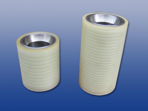 胶轮定制-广州高质量的太阳能硅晶片多线切割机高耐磨聚氨酯导线轮提供商