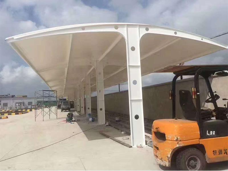 膜结构自行车棚供应,专业设计制造膜结构自行车棚