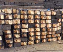 铁路枕木制造公司-大量供应批发铁路枕木