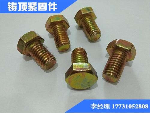 紧固件专家 标准镀彩螺丝|加工镀彩螺丝